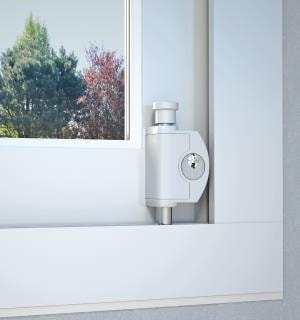 BSchiebefenster-Sicherung ABUS FTS 42 montiert