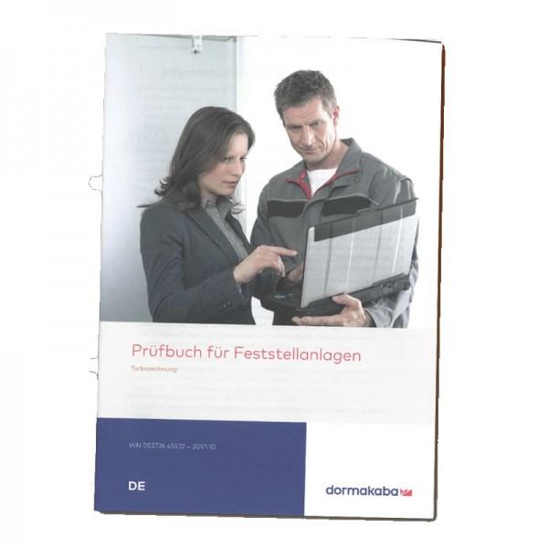 DORMAKABA Prüfbuch für Feststellanlagen