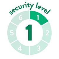 endlich-sicher Sicherheitssufe 1 von 6