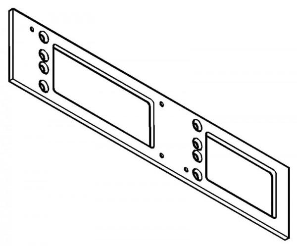 Montageplatte Türschließer für GEZE TS 4000 / TS 5000