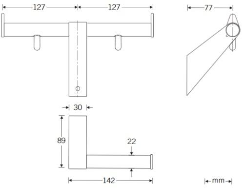 Papierrollenhalter-2-Zeichnung