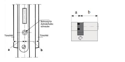 Halbzylinder vermessen