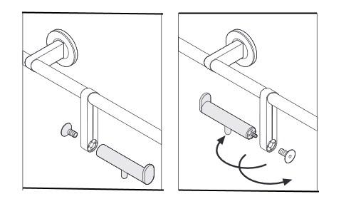 Papierrollenhalter-St-tzgriff-Zeichnung