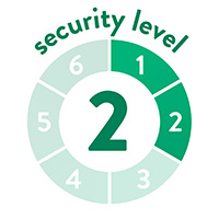 endlich-sicher Sicherheitssufe 2 von 6