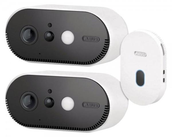 ABUS PPIC90200 - WLAN Basisstation mit zwei Kamera