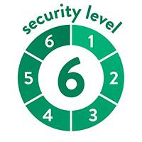 endlich-sicher Sicherheitssufe 6 von 6