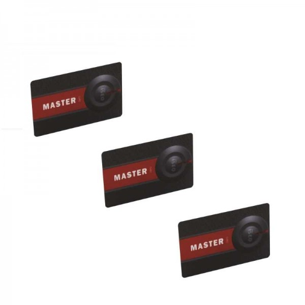 ISEO Libra Masterkarten-Set SIMPLY 3er-Set