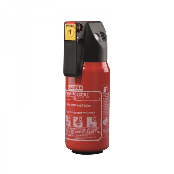 Feuerlöscher Gloria P1DB mit Kfz-Halterung