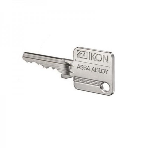 Schlüssel laut Muster zu IKON SK6 Vectorprofil Rippe Extra