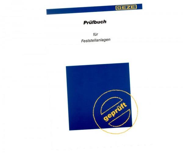 GEZE Prüfbuch für Feststellanlagen