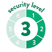 endlich-sicher Sicherheitssufe 3 von 6