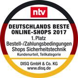 Deutschlands beste Online-Shops Bestell-/Zahlungsbedingungen 2017