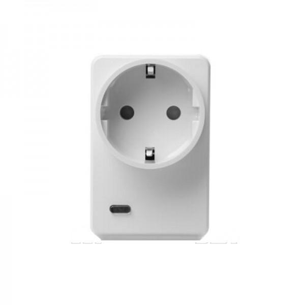 Lupus Funksteckdose mit Stromzähler und ZigBee Repeater
