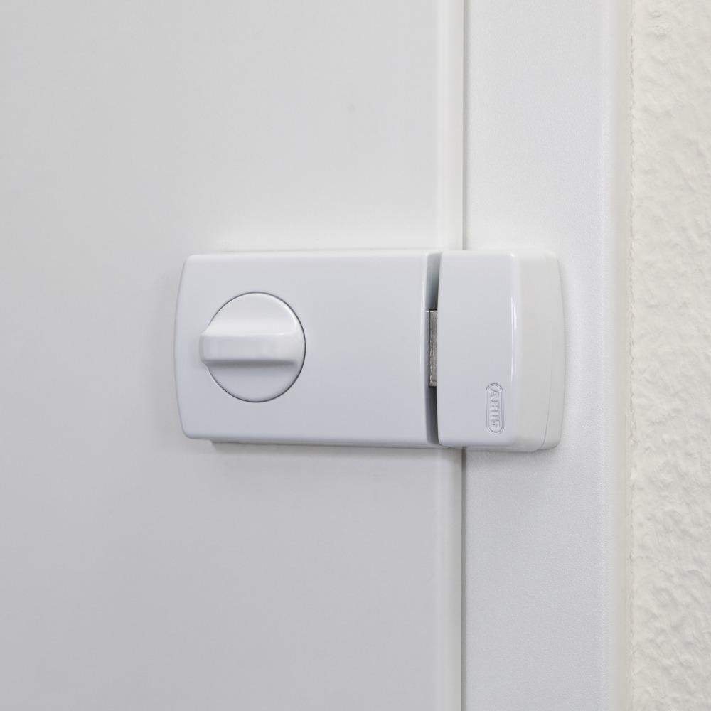 Beispielbild: Tür-Zusatzschloss ABUS 2110 montiert