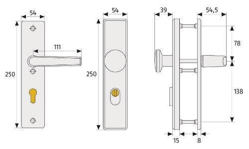 ABUS_KLN_314_technische_Zeichnung