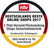 Deutschlands beste Online-Shops Versand 2017