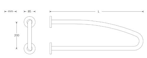 Wandst-tzgriff-gebogen-Zeichnung
