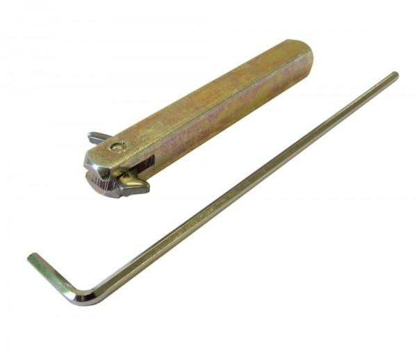 Stabil-Wechselstift 0115-0916 - 9 x 75 mm einseitig gebohrte Türen