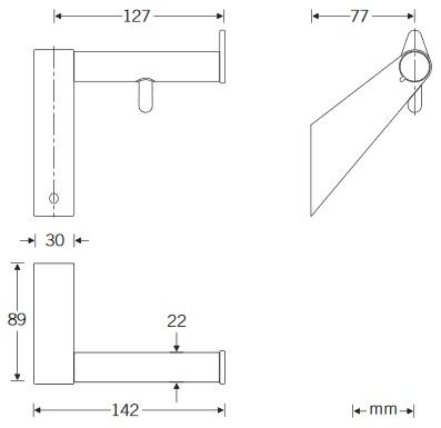 Papierrollenhalter-1-Zeichnung