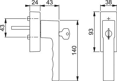 Hoppe-Toulon-0737S-FR-409-100NM-SALL-AOF-Zeichnung