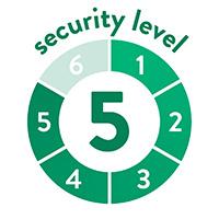 endlich-sicher Sicherheitssufe 5 von 6