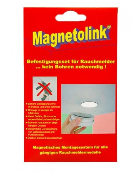 Magnet-Pads für Rauchmelder von Magnetolink