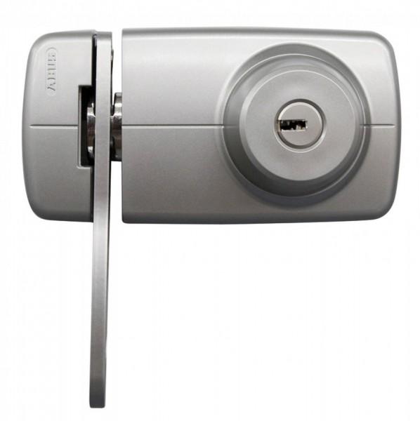 ABUS 7035 Tür-Zusatzschloss in silber