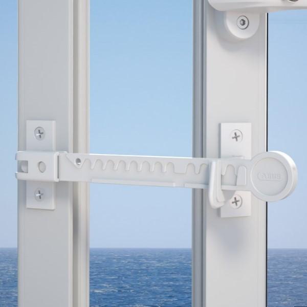 Fensterfeststeller ABUS FFS100 montiert